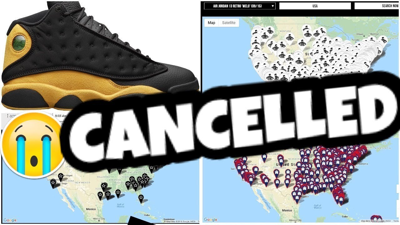 8ede2aadc7a MENS AIR JORDAN 13 MELO HAS BEEN CANCELLED - YouTube