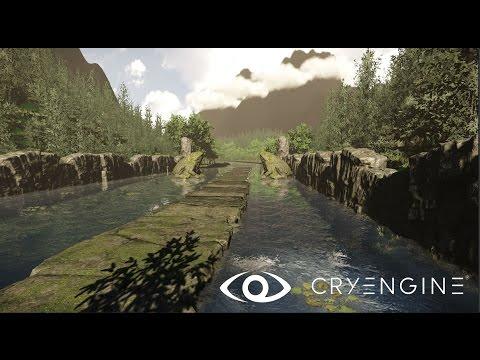 Speed Level Design | Toads Valley | CRYENGINE V