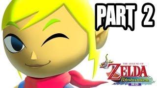 The Legend of Zelda: Wind Waker HD Gameplay Walkthrough - Part 2 (1080p - Wii U Zelda Gameplay HD)