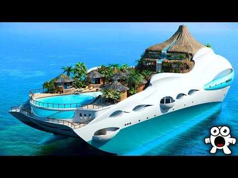 Top 10 Craziest Yacht Features You Won't Believe Exist