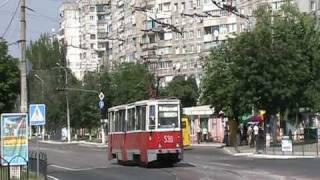 Straßenbahn und Obus in Mariupol - Трамвай и троллейбус в Мариуполе
