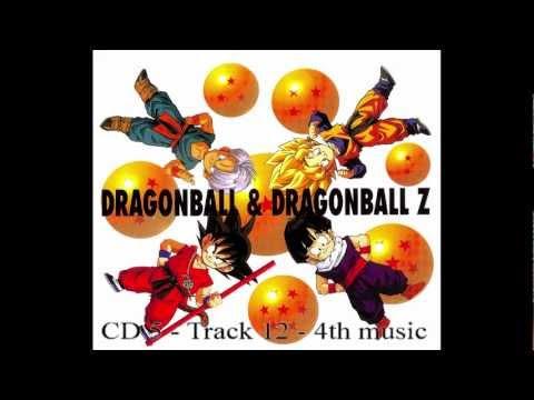 DB DBZ Dragon Ball Z CD BOX CD 5 Track 12 - 4th music