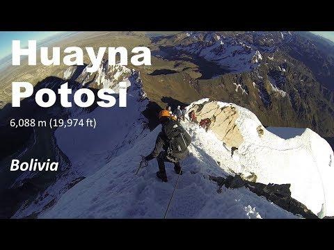 Huayna Potosi Climb - Bolivia