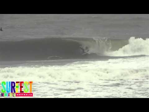 Day 6 Highlights - Surfest 2013 - Newcastle Harbor Breakwall