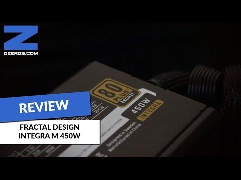 Review: Fuente de poder Fractal Design Integra M 450W - La potencia justa en un formato compacto