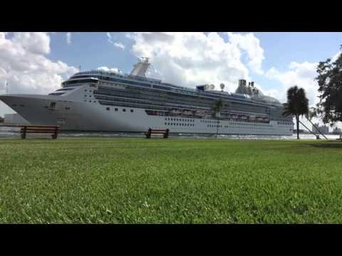 Cruise Ship @ Port Everglades