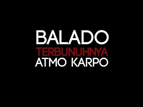 Balado Terbunuhnya Atmo Karpo