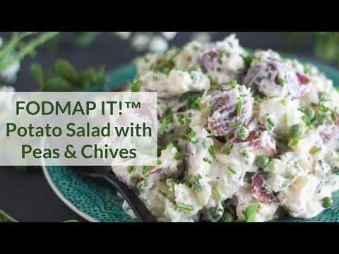 Low FODMAP Potato Salad with Peas & Chives – FODMAP Everyday
