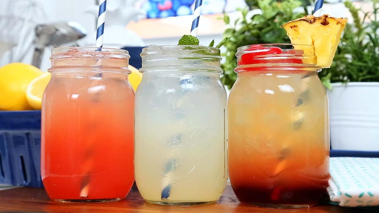 3 Homemade Lemonade Recipes - YouTube