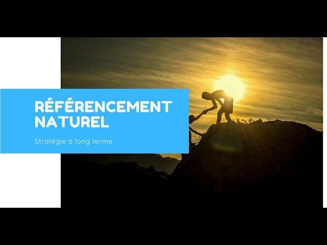 Pourquoi le référencement naturel est à penser sur le long terme ?