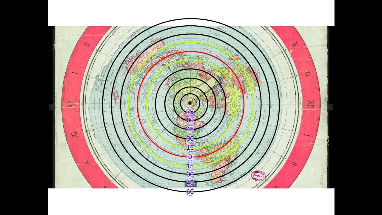 Gleason Flat Earth Map-True!