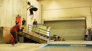 Chaz Ortiz - Backside Flips On Lock