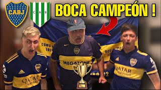 BOCA vs BANFIELD | REACCION EMOCIONANTE de la FINAL ! *Boca CAMPEÓN por PENALES* 😱🏆