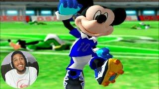DISNEY SPORTS SOCCER - O JOGO DE FUTEBOL DO MICKEY DA KONAMI (Gameplay GameCube)