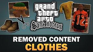 GTA SA - Removed Clothing [Beta Analysis]