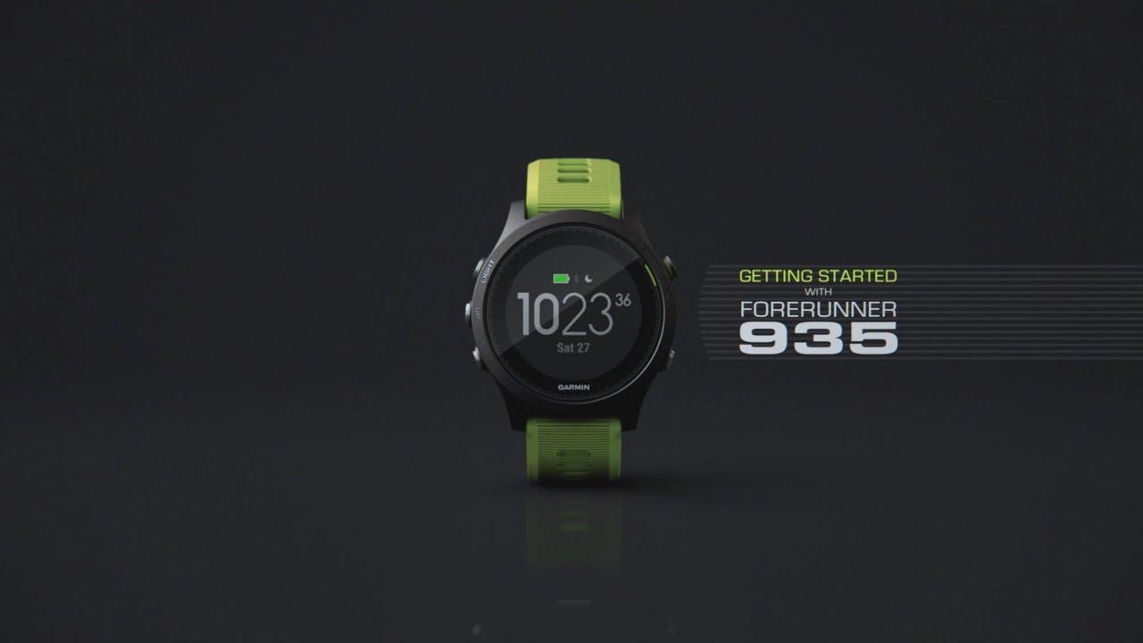 Garmin Forerunner® 935 - GPS Multisport Smartwatch Triathlon-Bundle