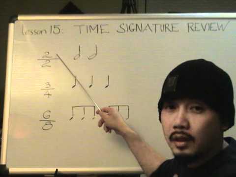 Nhạc lý căn bản bài 15 (Ôn tập nhịp)