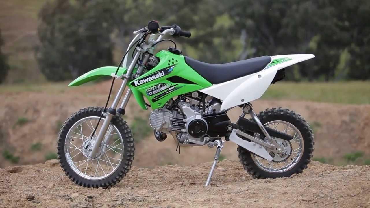 MXTV Bike Review - Kawasaki KLX110L - YouTube