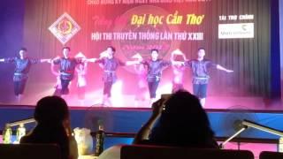 Múa dân gian: Một Thoáng Quê Hương (HTTT K41) - Chung Kết tiếng hát ĐHCT 2015