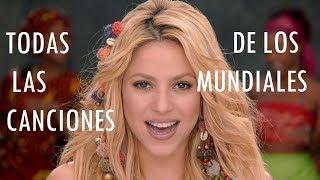 Todas las Canciones de los Munidales (1962-2014)