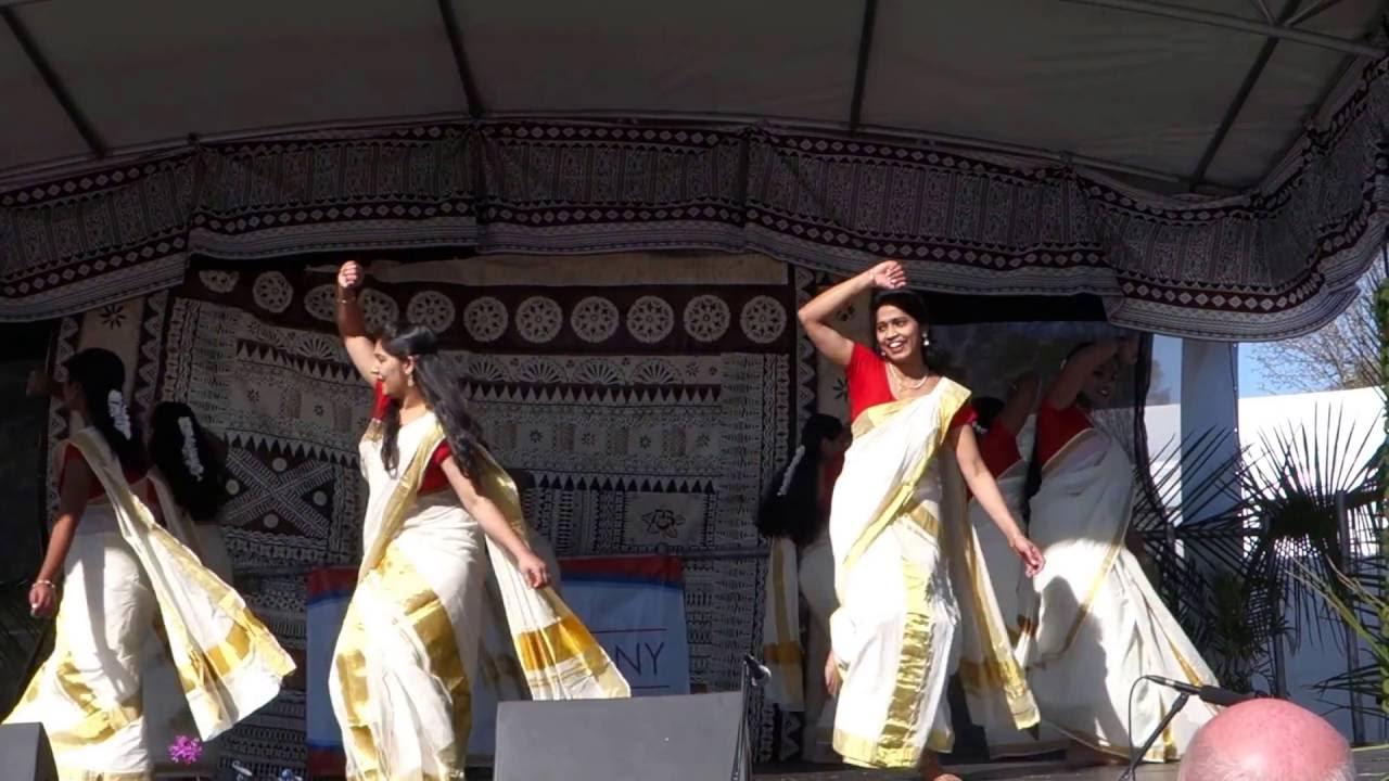 Thiruvathira Performance By Toowoomba Malayali Association TMA At TLCF 2016