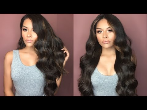 Big Voluminous Hair Tutorial | Sarahy Delarosa