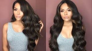 Big Voluminous Hair Tutorial | Sarahy Delarosa