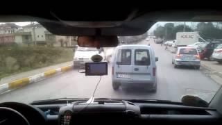 112 Acil Ambulans Vaka Çıkışı Yol Vermeyen Halkımız