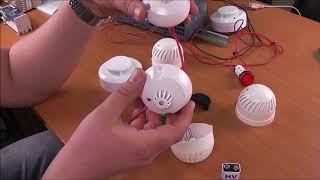 Датчики дыма (пожарные извещатели). Эксперимент с подключением к промышленному контроллеру.