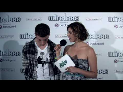 Backstage interview with Reece at the Wireless Fest 2010