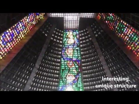Rio de Janeiro Brazil Cathedral Unique Structure
