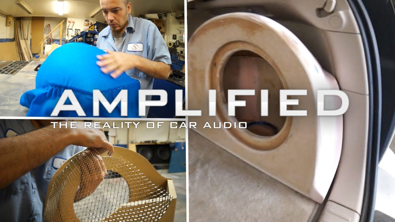 How To Build A Sub Box >> How to Build a Fiberglass Subwoofer Box, Lexus RX350 - Amplified #123 - YouTube