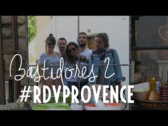 Bastidores do vídeo da Granita Rosé do #RDVPROVENCE
