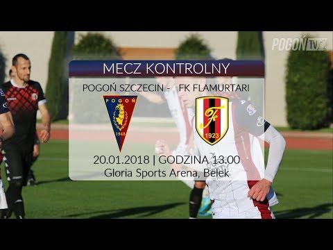 Belek 2018 - Dzień 4 - Pogoń Szczecin – Flamurtari Vlore 2:1 (0:0)