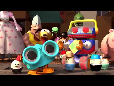 'You Say Run' Goes With Anything - Toy Story Car Scene