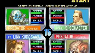 Aliens Vs Predator: Arcade game
