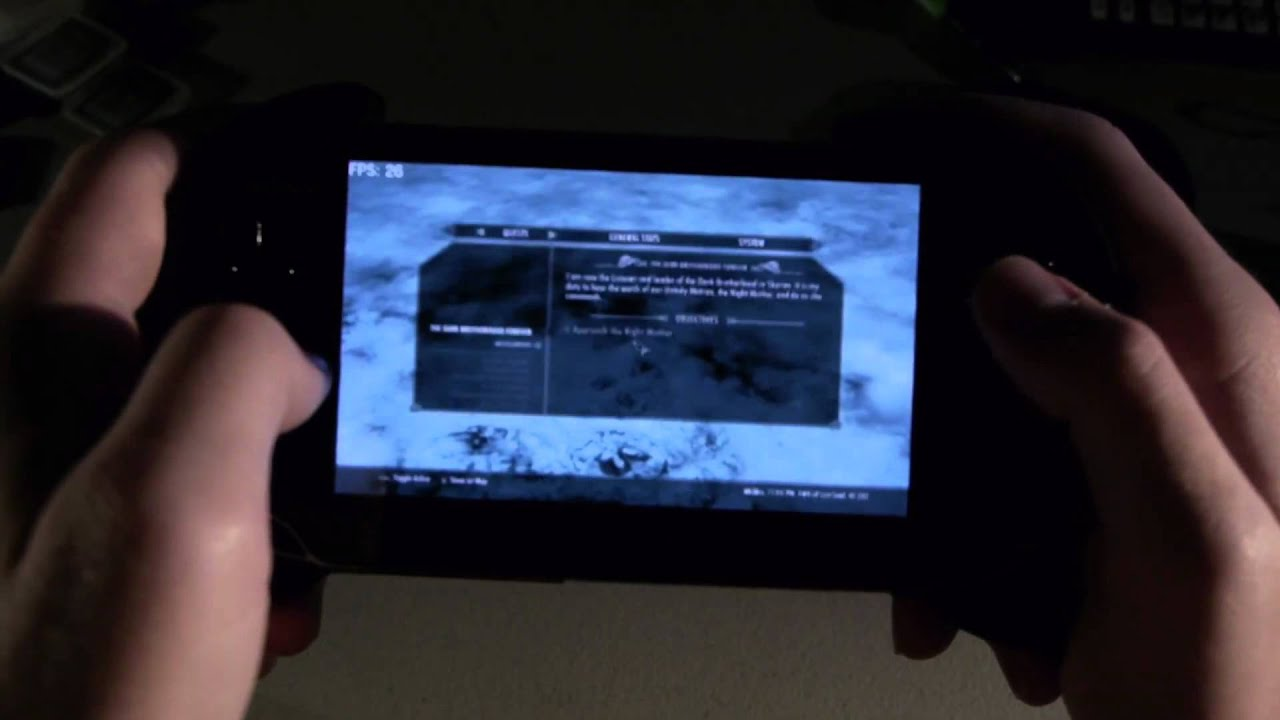 Skyrim The Elder Scrolls V on PS Vita