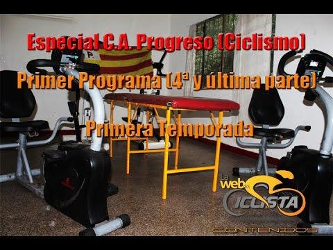 """1er Programa Temporada 1 - """"Especial C A Progreso (Ciclismo)"""" - Última Parte"""