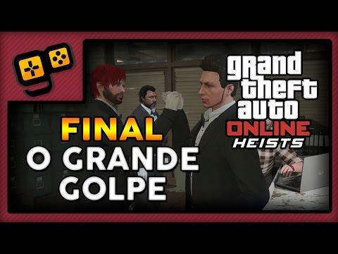 GTA V Online Heists [FINAL] - Pacific Standard (6/6) - O Grande Golpe