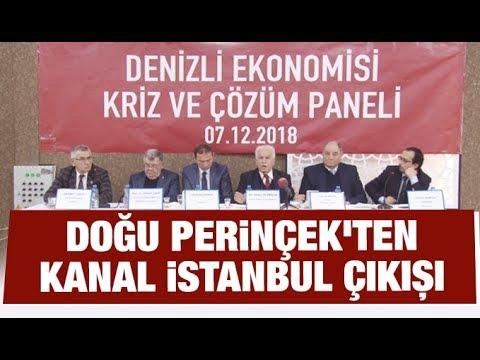 Doğu Perinçek'ten 'Kanal İstanbul' çıkışı