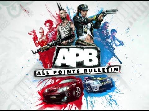Наши похождения по APB Reloaded часть 1