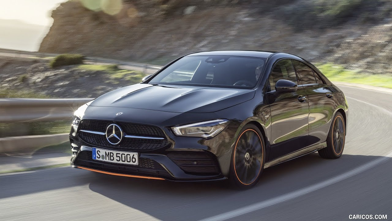 Mercedes Benz Cla 250 Coupe Edition Orange Art Amg Line
