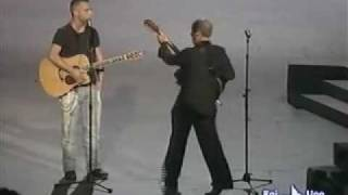Download Eros Ramazotti & Adriano Celentano performing on live TV Mp3 and Videos
