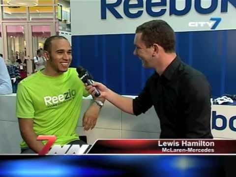 Tom Bushell chats to Lewis Hamilton for CIty 7 TV