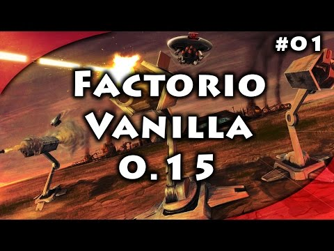 Factorio 0.15 - Vanilla - Part 1 - Handcrafting and Manual L