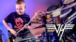 """You Really Got Me, Van Halen"" Avery Molek, 8 year old Drummer"