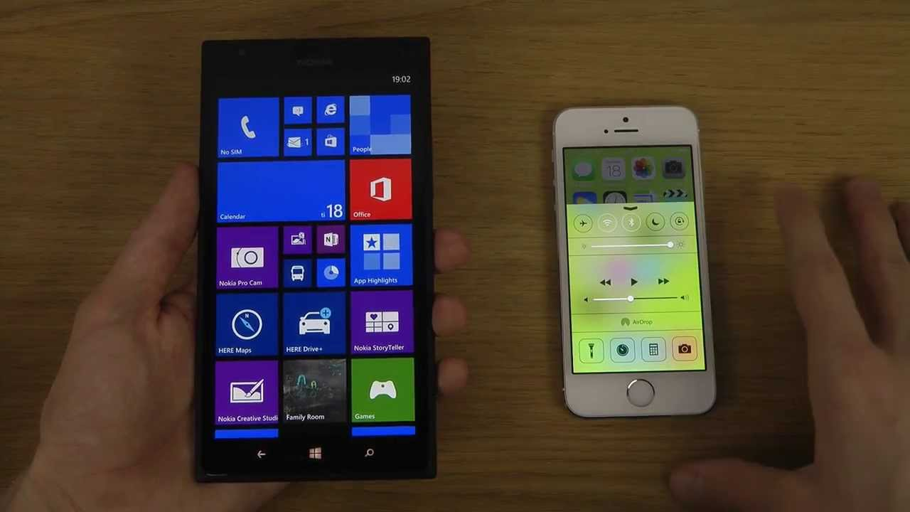 lumia vs iphone 7