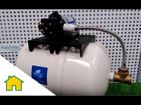 Bomba de Presión Shurflo 2088-474-144 con Calderin 20 Litros - YouTube ed760521f39