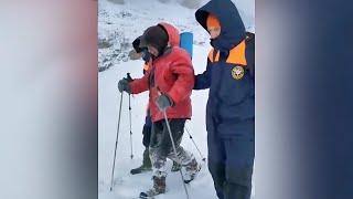 Пропавшего 82-летнего альпиниста-любителя нашли на хребте Абишира-Ахуба