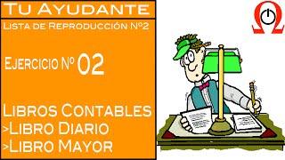 [2] Apertura de cuenta bancaria / Ejercicio Libro Diario & Mayor #2